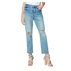 NEW Blank NYC Madison Distressed Crop Jeans